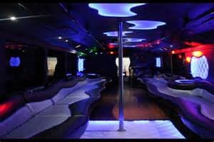 image1 - inside of prom limousine bus