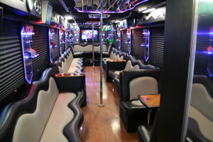 luxury bus interior
